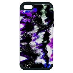 Canvas Acrylic Digital Design Apple Iphone 5 Hardshell Case (pc+silicone) by Simbadda