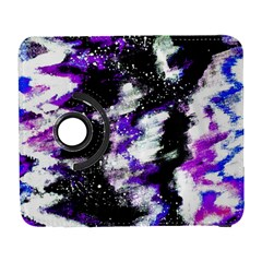 Canvas Acrylic Digital Design Galaxy S3 (flip/folio) by Simbadda