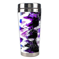 Canvas Acrylic Digital Design Stainless Steel Travel Tumblers by Simbadda