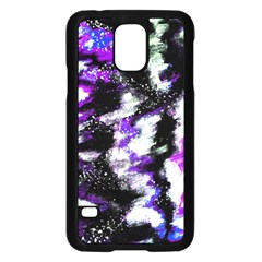 Canvas Acrylic Digital Design Samsung Galaxy S5 Case (black) by Simbadda