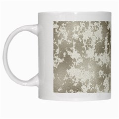 Wall Rock Pattern Structure Dirty White Mugs by Simbadda