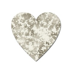 Wall Rock Pattern Structure Dirty Heart Magnet by Simbadda