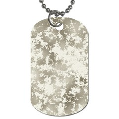 Wall Rock Pattern Structure Dirty Dog Tag (one Side) by Simbadda