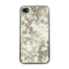 Wall Rock Pattern Structure Dirty Apple Iphone 4 Case (clear) by Simbadda