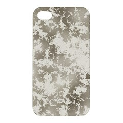 Wall Rock Pattern Structure Dirty Apple Iphone 4/4s Premium Hardshell Case by Simbadda