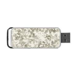 Wall Rock Pattern Structure Dirty Portable Usb Flash (two Sides) by Simbadda