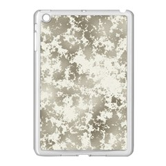 Wall Rock Pattern Structure Dirty Apple Ipad Mini Case (white) by Simbadda
