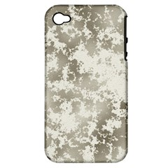 Wall Rock Pattern Structure Dirty Apple Iphone 4/4s Hardshell Case (pc+silicone) by Simbadda