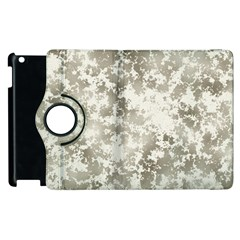 Wall Rock Pattern Structure Dirty Apple Ipad 2 Flip 360 Case by Simbadda