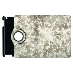 Wall Rock Pattern Structure Dirty Apple Ipad 3/4 Flip 360 Case by Simbadda