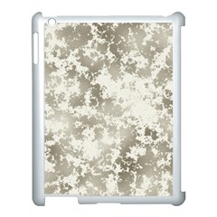 Wall Rock Pattern Structure Dirty Apple Ipad 3/4 Case (white) by Simbadda