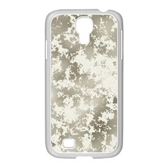 Wall Rock Pattern Structure Dirty Samsung Galaxy S4 I9500/ I9505 Case (white) by Simbadda