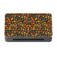Pattern Background Ethnic Tribal Memory Card Reader With Cf by Simbadda