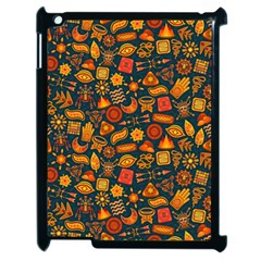 Pattern Background Ethnic Tribal Apple Ipad 2 Case (black) by Simbadda