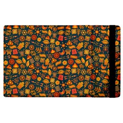 Pattern Background Ethnic Tribal Apple Ipad 3/4 Flip Case by Simbadda