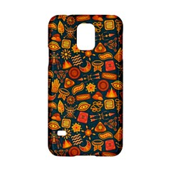 Pattern Background Ethnic Tribal Samsung Galaxy S5 Hardshell Case  by Simbadda