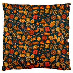 Pattern Background Ethnic Tribal Standard Flano Cushion Case (two Sides) by Simbadda