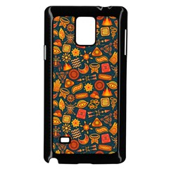 Pattern Background Ethnic Tribal Samsung Galaxy Note 4 Case (black) by Simbadda