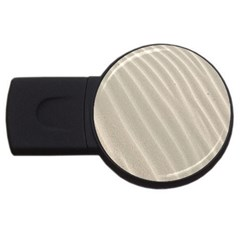 Sand Pattern Wave Texture Usb Flash Drive Round (2 Gb) by Simbadda