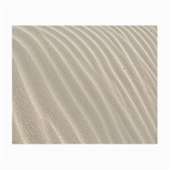Sand Pattern Wave Texture Small Glasses Cloth by Simbadda