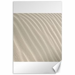 Sand Pattern Wave Texture Canvas 24  X 36  by Simbadda