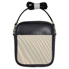 Sand Pattern Wave Texture Girls Sling Bags by Simbadda