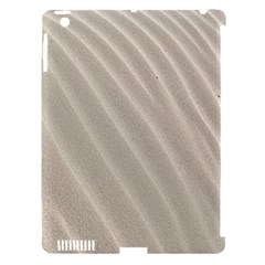 Sand Pattern Wave Texture Apple Ipad 3/4 Hardshell Case (compatible With Smart Cover) by Simbadda