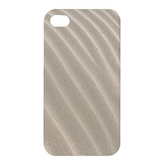 Sand Pattern Wave Texture Apple Iphone 4/4s Premium Hardshell Case by Simbadda