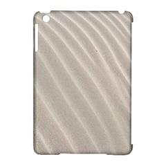 Sand Pattern Wave Texture Apple Ipad Mini Hardshell Case (compatible With Smart Cover) by Simbadda