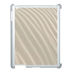 Sand Pattern Wave Texture Apple Ipad 3/4 Case (white) by Simbadda
