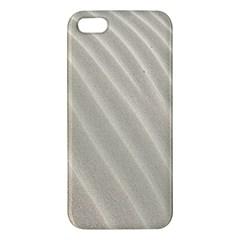 Sand Pattern Wave Texture Iphone 5s/ Se Premium Hardshell Case by Simbadda