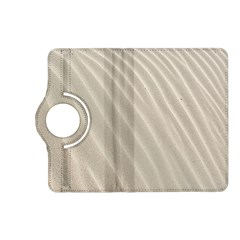 Sand Pattern Wave Texture Kindle Fire Hd (2013) Flip 360 Case by Simbadda