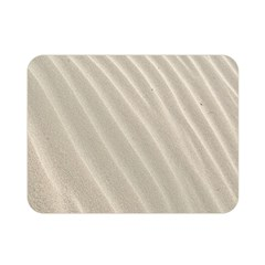 Sand Pattern Wave Texture Double Sided Flano Blanket (mini)  by Simbadda