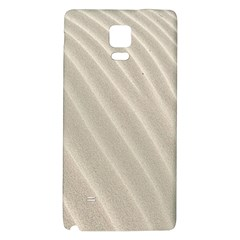 Sand Pattern Wave Texture Galaxy Note 4 Back Case by Simbadda