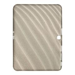 Sand Pattern Wave Texture Samsung Galaxy Tab 4 (10 1 ) Hardshell Case  by Simbadda