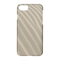 Sand Pattern Wave Texture Apple Iphone 7 Hardshell Case by Simbadda