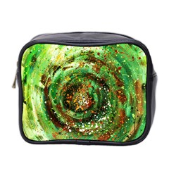 Canvas Acrylic Design Color Mini Toiletries Bag 2 Side by Simbadda