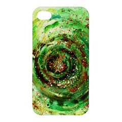 Canvas Acrylic Design Color Apple Iphone 4/4s Premium Hardshell Case by Simbadda
