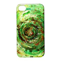 Canvas Acrylic Design Color Apple Iphone 4/4s Hardshell Case With Stand by Simbadda