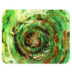 Canvas Acrylic Design Color Double Sided Flano Blanket (medium)  by Simbadda