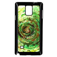 Canvas Acrylic Design Color Samsung Galaxy Note 4 Case (black)
