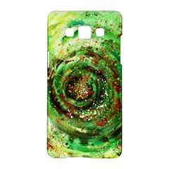 Canvas Acrylic Design Color Samsung Galaxy A5 Hardshell Case  by Simbadda