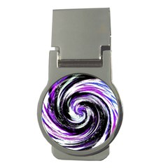 Canvas Acrylic Digital Design Money Clips (round)  by Simbadda