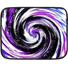 Canvas Acrylic Digital Design Fleece Blanket (mini) by Simbadda