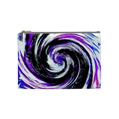 Canvas Acrylic Digital Design Cosmetic Bag (medium)  by Simbadda