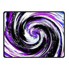 Canvas Acrylic Digital Design Fleece Blanket (small) by Simbadda