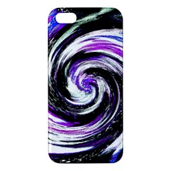 Canvas Acrylic Digital Design Apple Iphone 5 Premium Hardshell Case by Simbadda