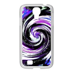 Canvas Acrylic Digital Design Samsung Galaxy S4 I9500/ I9505 Case (white) by Simbadda
