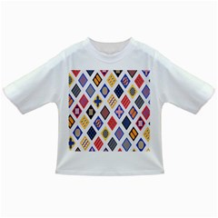 Plaid Triangle Sign Color Rainbow Infant/toddler T Shirts by Alisyart