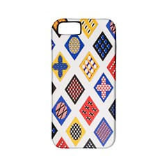 Plaid Triangle Sign Color Rainbow Apple Iphone 5 Classic Hardshell Case (pc+silicone) by Alisyart